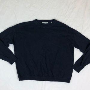 Vince. Men's Navy Blue Crew Neck Sweater